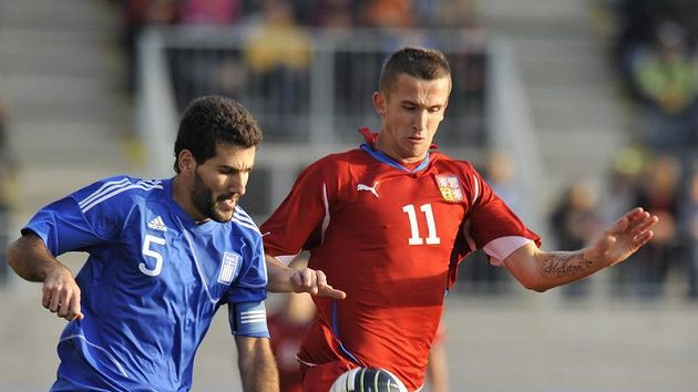 Tomáš Pekhart (vpravo) z Česka a Dimitrios Siovas z Řecka.