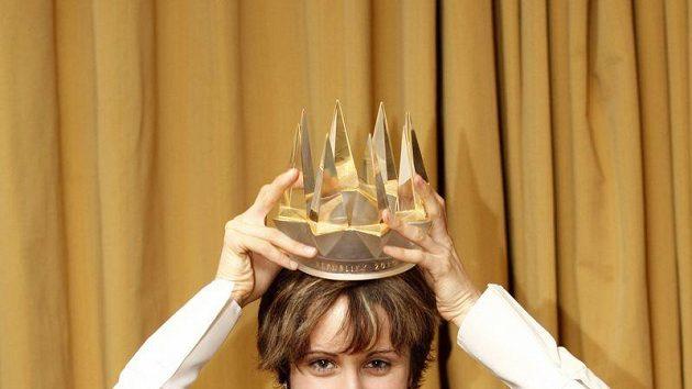 Martina Sáblíková s korunkou pro Sportovce roku