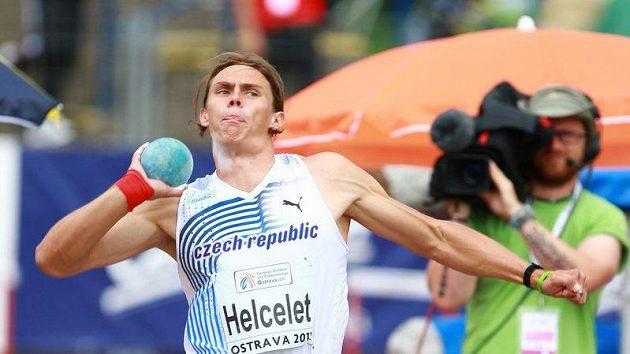 Český desetibojař Adam Sebastian Helcelet.