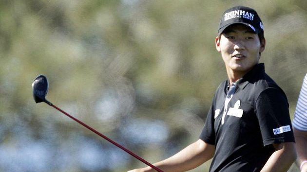 Korejský golfista Sunghoon Kang