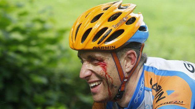Druhou etapu Tour Christian Vande Velde se zraněním ještě dokončil, do třetí již ale nenastoupil.
