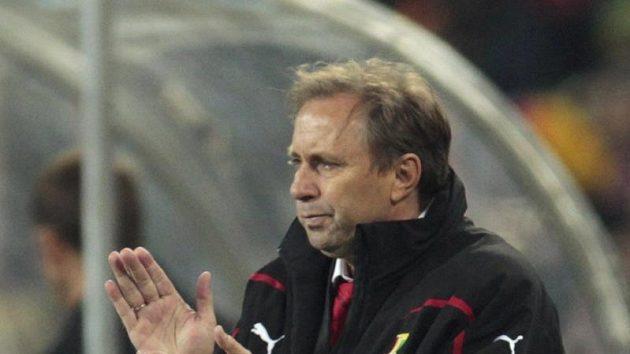 Srbský trenér fotbalistů Milovan Rajevac