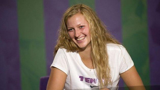 Wimbledonská vítězka Petra Kvitová