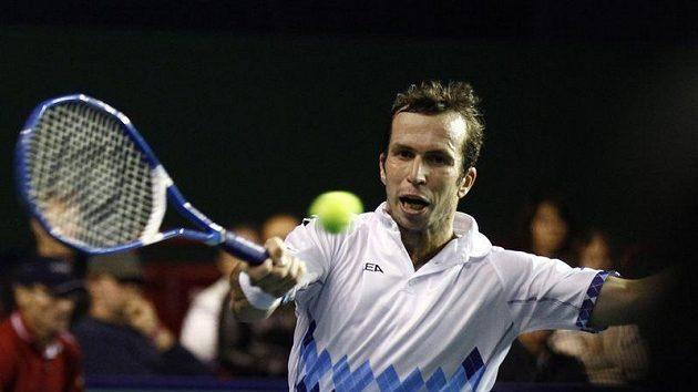 Radek Štěpánek vypadl na turnaji série Masters hned v 1. kole s Němcem Mayerem.