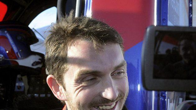 Vítěz Evropského poháru v závodech tahačů David Vršecký