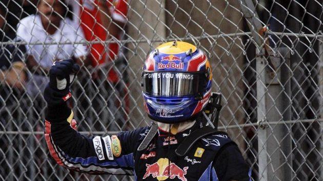 Australská radost - Mark Webber slaví druhé vítězství v řadě.
