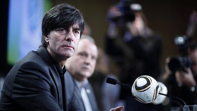 Reprezentační trenér německých fotbalistů Joachim Löw