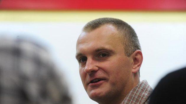 Trenér hokejistů Litvínova Robert Reichel