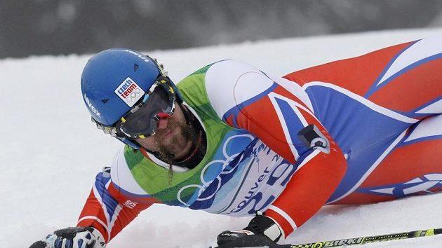 Český slalomář Filip Trejbal