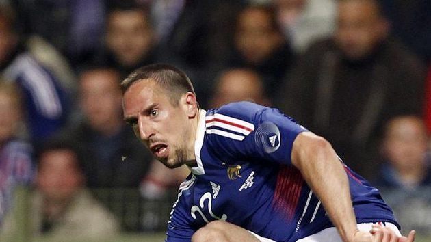 Franck Ribéry se těší na návrat do reprezentace.