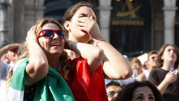 Italští fotbaloví fanoušci