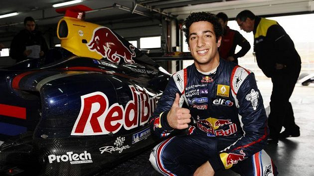 Automobilový závodník Daniel Ricciardo