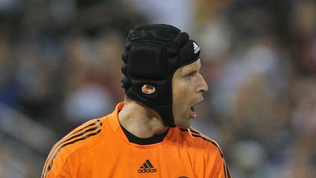 Petr Čech v dresu Chelsea