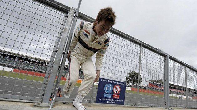 Japonec Kobajaši byl na závěr testů nejrychlejší.