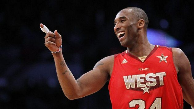 Basketbalista Kobe Bryant při All Star Game