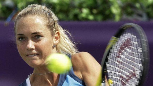 Tenistka Klára Zakopalová.