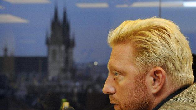 Bývalý německý tenista Boris Becker