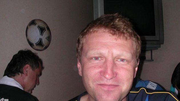 Trenér Varnsdorfu Aleš Křeček.