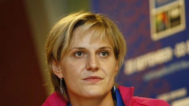 Česká basketbalistka Hana Horáková
