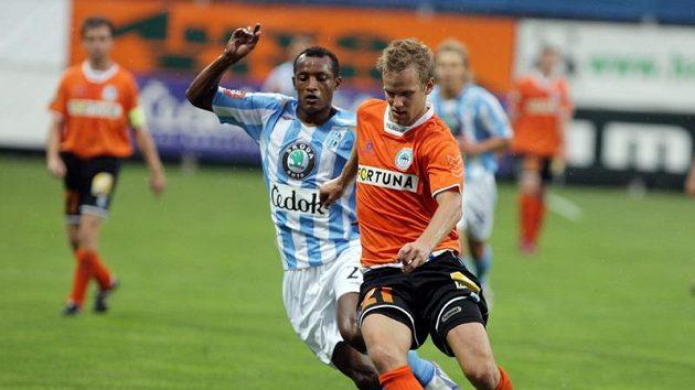 Radek Dejmek (vpravo) mění Liberec za belgický klub OH Lovaň.