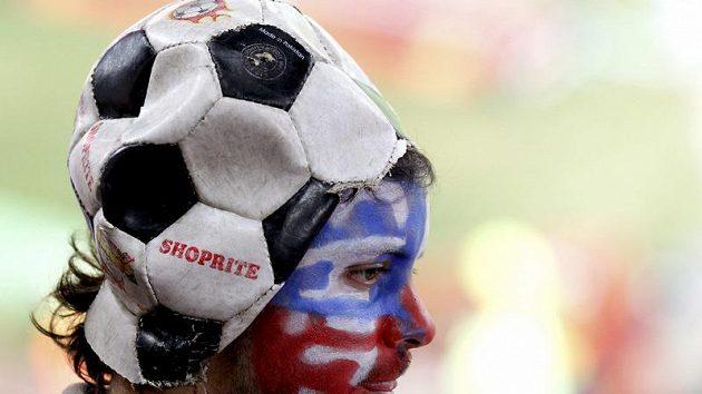 Chilský fanoušek - ilustrační foto.