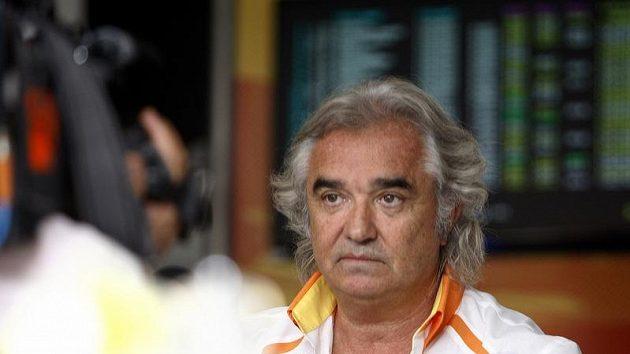 Bývalý šéf Renaultu Flavio Briatore
