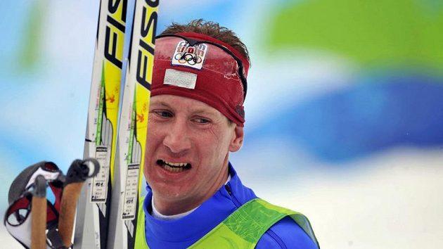 Český běžec Lukáš Bauer