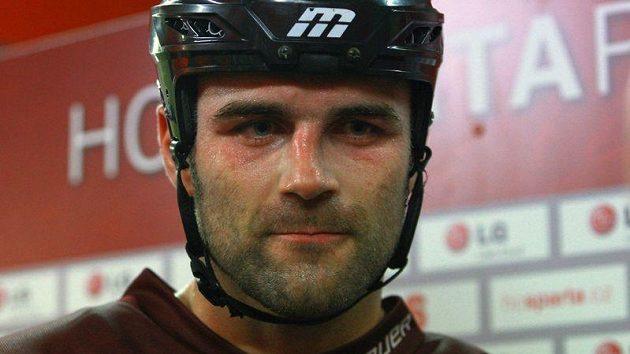 David Kočí ještě v dresu Sparty, teď ho čeká trenérská výzva v Chomutově.