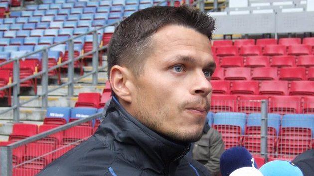 Libor Sionko před tréninkem FC Kodaň na Parken Stadionu.