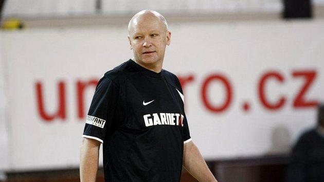 Šéf fotbalového svazu Ivan Hašek v dresu Nike.