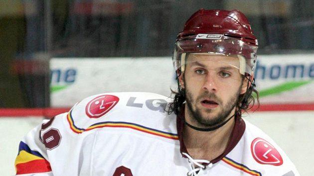Hokejista Sparty Jan Hanzlík