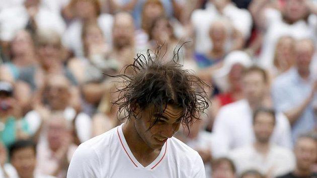 Tenista Rafael Nadal ve Wimbledonu
