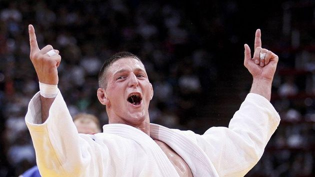 Ilustrační foto: Radost judisty Lukáše Krpálka z bronzové medaile na mistrovství světa v judu.