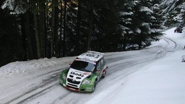 Juho Hänninen s Fabií S2000