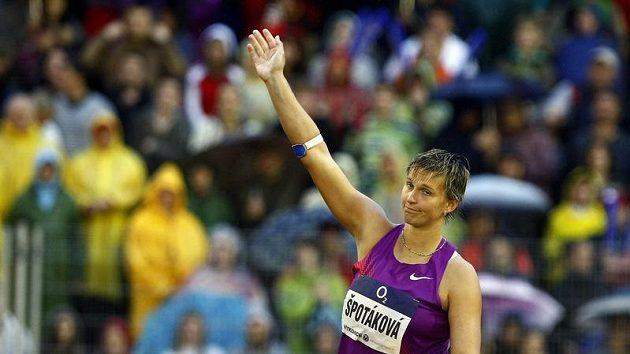 Barbora Špotáková by v Římě ráda napravila nepodařené vystoupení ze Zlaté tretry.