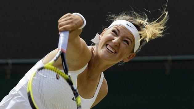 Běloruská tenistka Victoria Azarenková