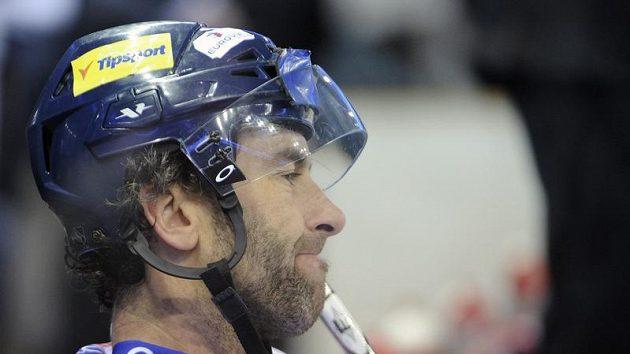 Petr Nedvěd po prohnaném utkání s Pardubicemi