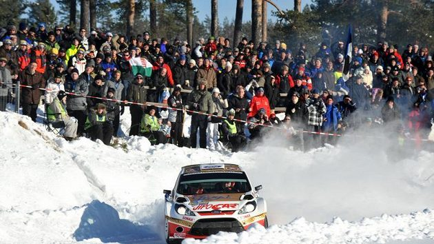 Martin Prokop dosáhl na Švédské rallye životního úspěchu, neboť vyhrál první světovou erzetu.