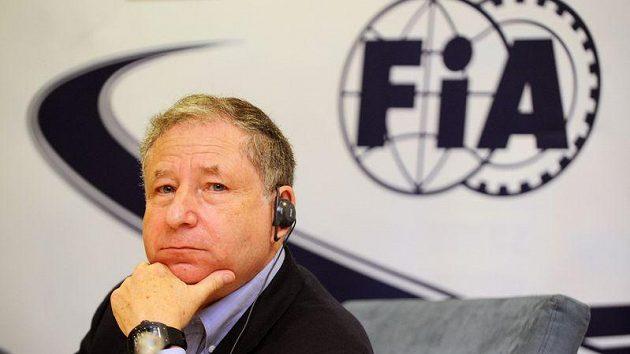 Prezident Mezinárodní automobilové federace (FIA) Jean Todt ve Zlíně.