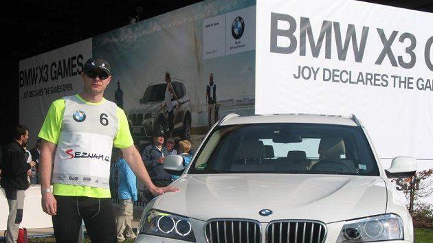 David Salomon při akci BMW X3 Games v Ženevě