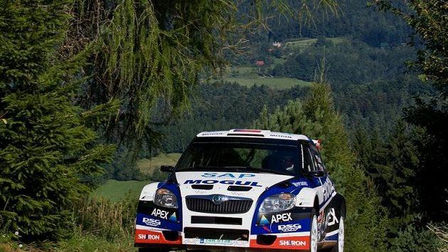 Pilot rallye Roman Kresta.