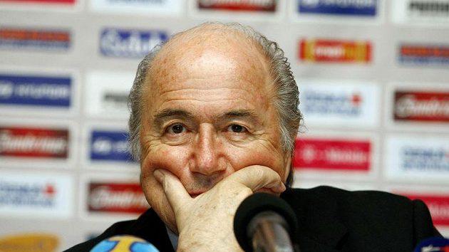 Bývalý předsetad FIFA Sepp Blatter