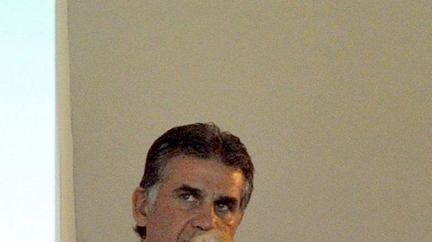 Omilostněný kouč Carlos Queiroz.