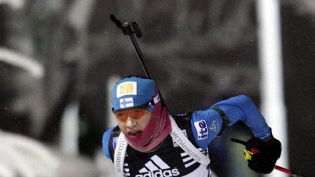 Finská biatlonistka Kaisa Mäkäräinenová