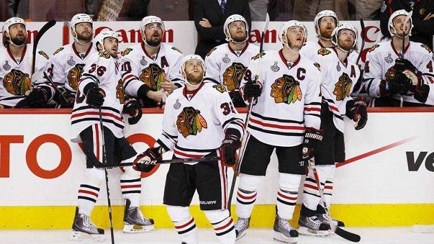 Hokejisté Chicaga vyhlížejí šestý zápas finále