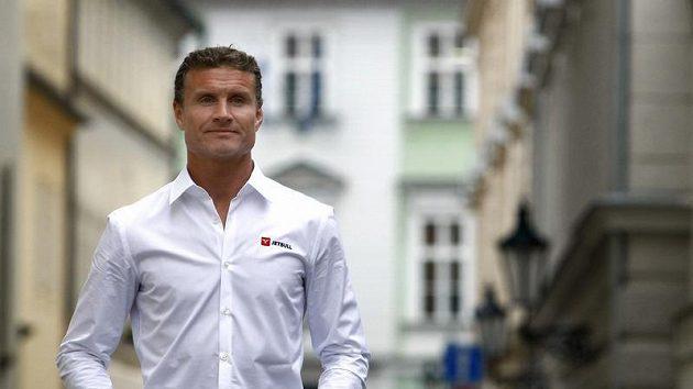 David Coulthard v Praze