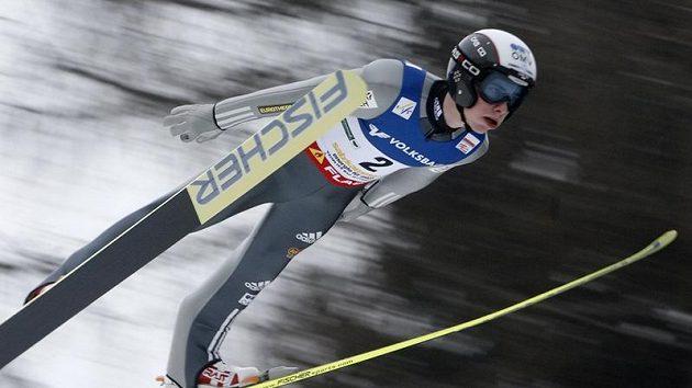 Antonín Hájek vybojoval v letech na lyžích v rakouském Kulmu čtvrté místo.