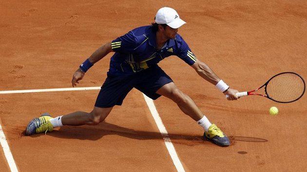Španělský tenista Fernando Verdasco během French Open