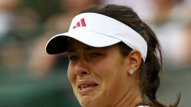 Srbská tenistka Ana Ivanovičová