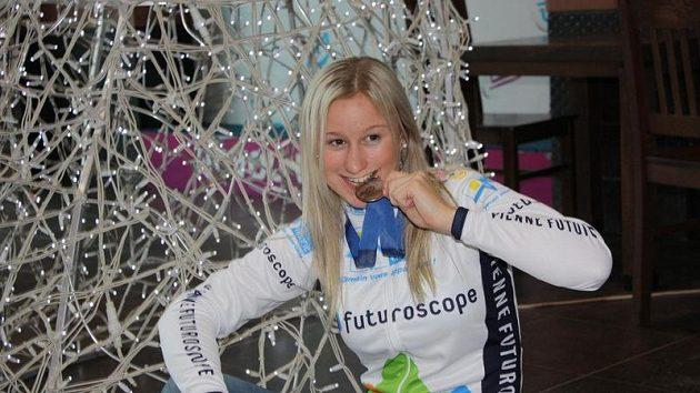 Česká cyklistka Gabriela Slámová